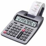 Calculadora C/ Bobina 12 Dígitos Hr-100tm -plus Casio