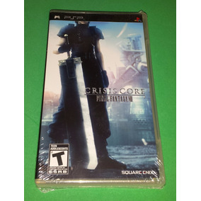 Final Fantasy Vii Crisis Core Psp Playstation Lacrado Novo