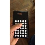 Kit 3 Case Tpu + Película Plást Celular Nokia Lumia 820 N820
