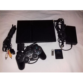 Consola Sony Ps2 Negra Chip Virtual Juegos Y Emuladores Usb