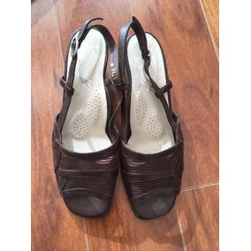 Zapatos Cuero Mujer Marrones Marca Cerruti Talla 40