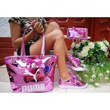Zapatos Tenis+bolso+billetera Combo Mujer Calidad Colombiana