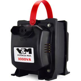 Auto Transformador De Voltagem Bivolt 110v E 220v || 3000va