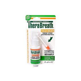 Formulado Dentista Therabreath Spray Aliento Fresco Para On