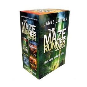 The Maze Runner Series - James Dashner (4 Libros En Inglés)