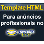 Como Fazer Template Html Para Anúncio Mercado Livre Promoção