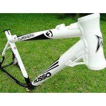 Quadro Bicicleta Alum. Mosso Turmoil 26 T19 Bco/pto 011394