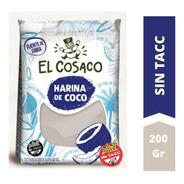 Harina De Coco X 200 Gr - Libre De Gluten Sin Tacc