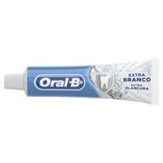 Pasta De Dentes Oral-b Extra Branco Em Creme 70 G