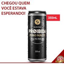 Cerveja Proibida Puro Malte Lata 355 Ml