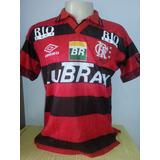 Camisa Flamengo Antiga Centenário 1995 Craque Edmundo - 10