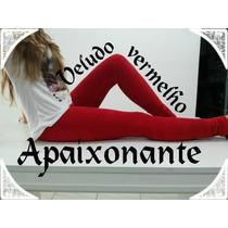 Calça Legging Veludo Cotelê Feminina 6 Cores - R$ 49,00 Un