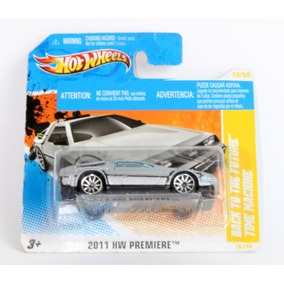 Set 2 Blisters Hot Wheels Back To The Future 2011 Hw Premier