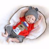 Sanydoll Bebé Reborn Muñeco De Silicona Blanda 22 Pulgadas