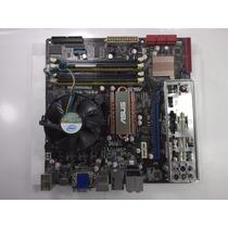 Placa Mãe Asus P5ql-em + Core 2 Duo E8400 + 4gb Ddr2 Espelho