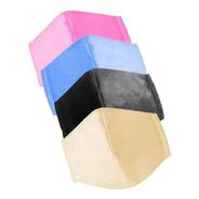 Kit 10 Máscara Rosto Facial Dupla Proteção Lavável Cores Tnt