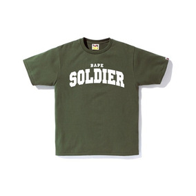 Remera Bape, Bathing Ape, Verde, Soldier, Swag, Hip Hop Trap