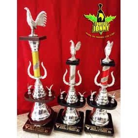 Trofeo Gallos Tercia Personalizado