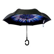 Paraguas Invertido Reversible Upside Down Umbrella
