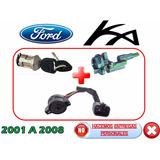 01-08 Ford Ka Switch De Encendido + Espiga + Pastilla Llave