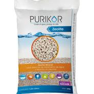 Arena Zeolita Mineral Para Filtros De Alberca 22 Kgs Purikor