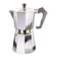 Cafetera Volturno 12 Pocillos Clássica Aluminio Pulido