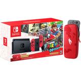 Consola Nintendo Switch Edición Mario Odyssey - Juego - Case