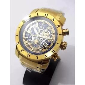 4dd67a819c5 Relógio Bvlgari Skeleton Bu9965 Iron Man - Relógio Bvlgari no ...