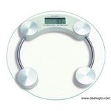 6 X Balanza Pesa Digital Baño Vidrio Temp. 150kg / Almayor