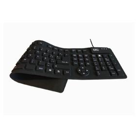 Teclado Flexible Lavable Impermeable Enrolla Usb Gtc Kbg-139