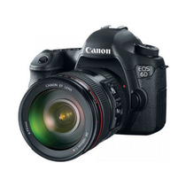 Canon 6d Com Lente 24-105mm F/4.0l Is Usm Af + Recibo Venda