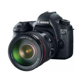 Canon 6d Com Lente 24-105mm F/4.0l Is Usm Af + Recibo Venda