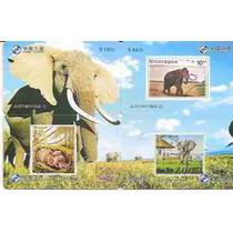 Ml-4461 China (puzzle) Série Elefantes Y16 (4 Cts)