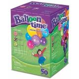 Helio Desechable Balloon Time Para 50 Globos