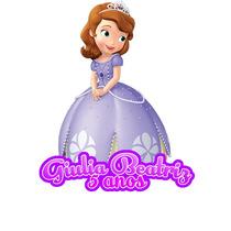 Tubetes 3d Personalizados Princesa Sofia