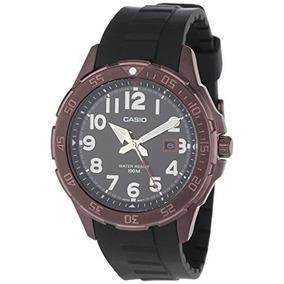 Reloj Análogo De Los Hombres De Brown Casio Mtd A2v Ion-pl