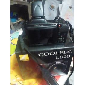Cámara Fotográfica Semi Profesional Nikon L820