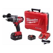 Taladro Percutor A Bateria Milwaukee 18v 2704 Fuel 135nm 5ah