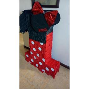 Piñata Numero 1 Minnie