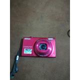 Cámara Nikon S6100