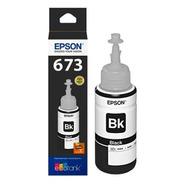 Tinta Epson T673 Negro Original T673120 Epson L800 L1800