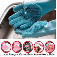 Megaluvas Kit Com 4 Pares Nova Luva De Limpeza - 3824