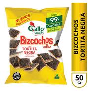 Bizcochos De Arroz Tortita Negra Gallo Snacks - Sin Tacc