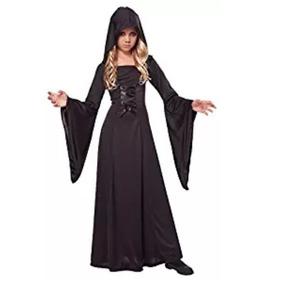 Disfraz Túnica Con Capucha Para Halloween Niña 12 A 14 Años