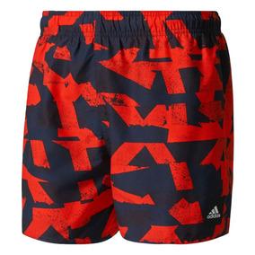 Short De Baño adidas Graphic Hombres N
