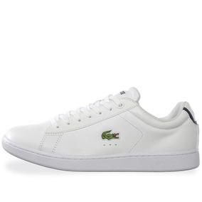 Tenis Lacoste Carnaby Evo - Spm1002001 - Blanco - Hombre