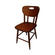 Cadeira Torneada Anatômica Em Madeira Para Bar