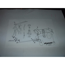 = Playmobil = Faroeste Carroça Aberta Forte Apache