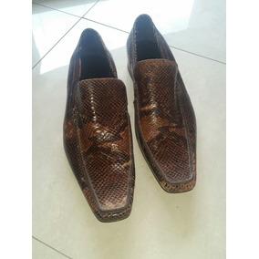 Sapato Masculino Jorge Alex Couro Cobra