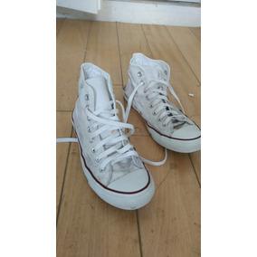 Zapatillas Converse Botitas Blancas Talle 41.5